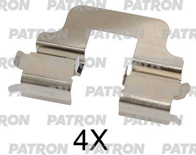 Patron PSRK1234 - Piederumu komplekts, Disku bremžu uzlikas interparts.lv