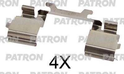 Patron PSRK1276 - Piederumu komplekts, Disku bremžu uzlikas interparts.lv