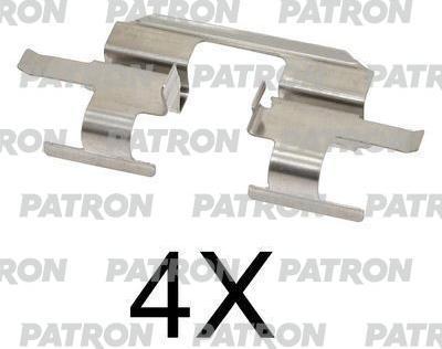 Patron PSRK1273 - Piederumu komplekts, Disku bremžu uzlikas interparts.lv