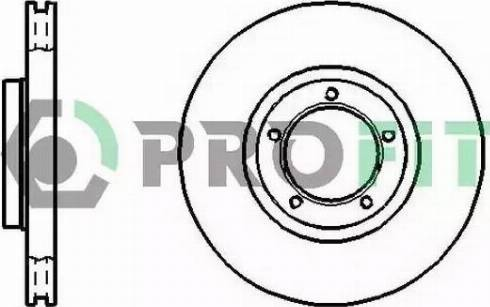 Profit 5010-0848 - Bremžu diski interparts.lv
