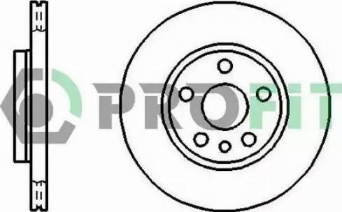 Profit 5010-0842 - Bremžu diski interparts.lv