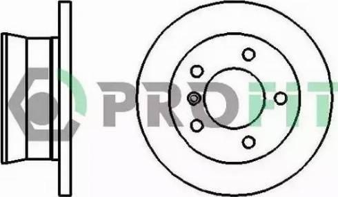 Profit 5010-2001 - Bremžu diski interparts.lv