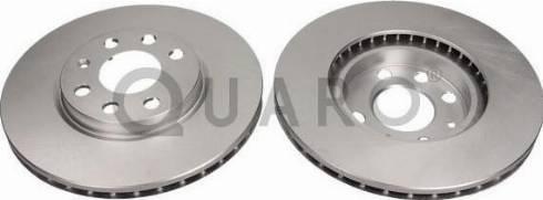 QUARO QD2181 - Bremžu diski interparts.lv