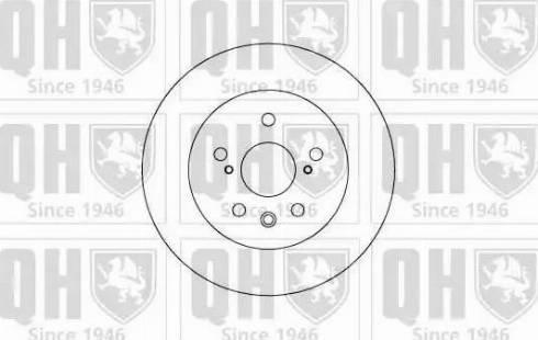 Quinton Hazell BDC4624 - Bremžu diski interparts.lv