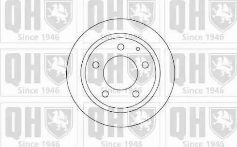 Quinton Hazell BDC4874 - Bremžu diski interparts.lv
