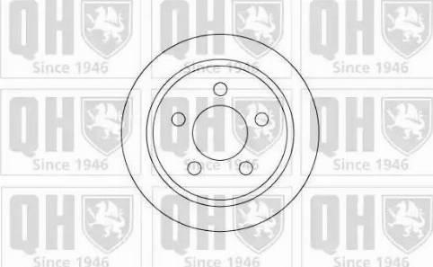 Quinton Hazell BDC4777 - Bremžu diski interparts.lv