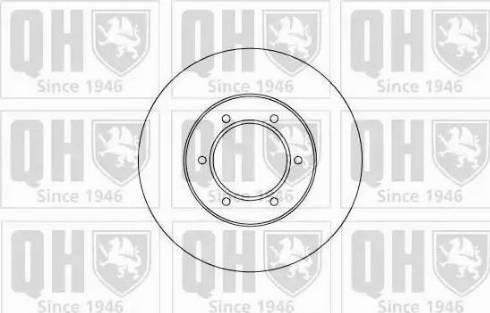 Quinton Hazell BDC5002 - Bremžu diski interparts.lv