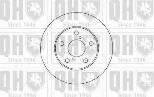 Quinton Hazell BDC5085 - Bremžu diski interparts.lv