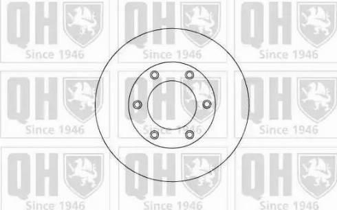 Quinton Hazell BDC5108 - Bremžu diski interparts.lv