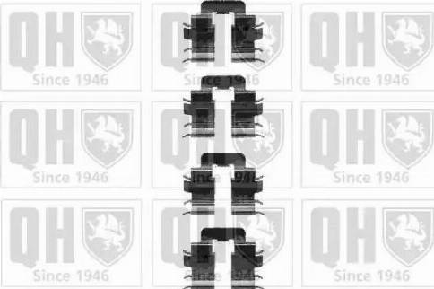 Quinton Hazell BFK905 - Piederumu komplekts, Bremžu loki interparts.lv