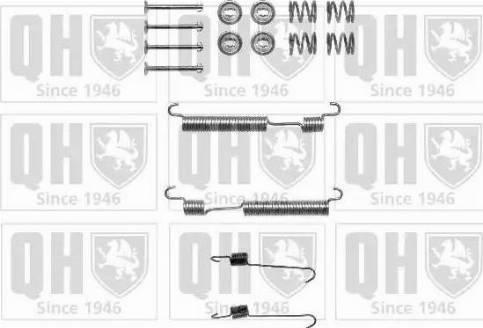 Quinton Hazell BFK457 - Piederumu komplekts, Bremžu loki interparts.lv