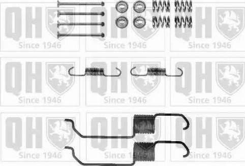 Quinton Hazell BFK460 - Piederumu komplekts, Bremžu loki interparts.lv