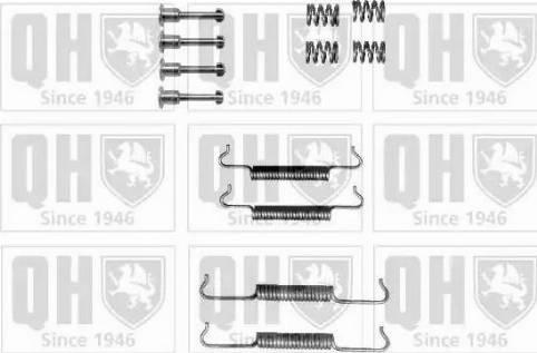 Quinton Hazell BFK433 - Piederumu komplekts, Stāvbremzes mehānisma bremžu loks interparts.lv