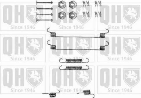 Quinton Hazell BFK426 - Piederumu komplekts, Bremžu loki interparts.lv