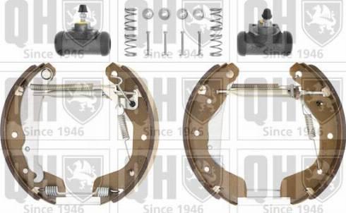 Quinton Hazell BS840K3 - Bremžu komplekts, trumuļa bremzes interparts.lv