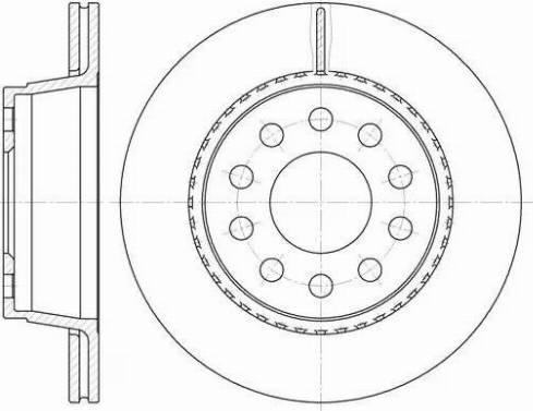 LYNXauto BN-1225 - Bremžu diski interparts.lv
