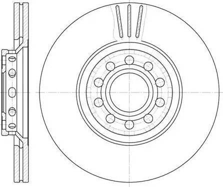 Remsa 6596.10 - Bremžu diski interparts.lv