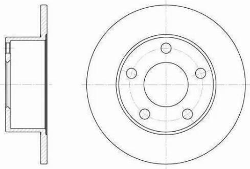 RIDER RD.2625.DF2651 - Bremžu diski interparts.lv