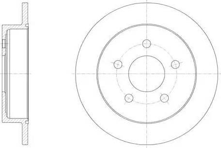 Protechnic PRD5396 - Bremžu diski interparts.lv