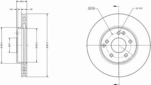Remy RAD1179C - Bremžu diski interparts.lv