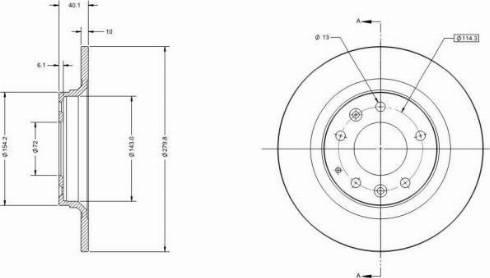 Remy RAD1398C - Bremžu diski interparts.lv