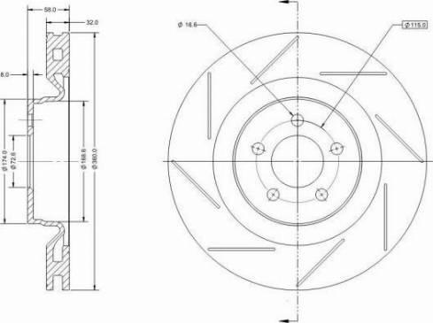 Remy RAD2086C - Bremžu diski interparts.lv