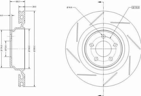 Remy RAD2087C - Bremžu diski interparts.lv