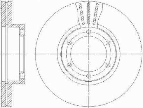 Pemebla JAPDI-K07 - Bremžu diski interparts.lv