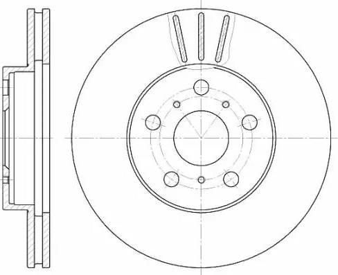 A.B.S. 16141 - Bremžu diski interparts.lv