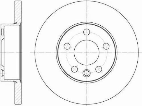 FREMAX BD-0506 - Bremžu diski interparts.lv