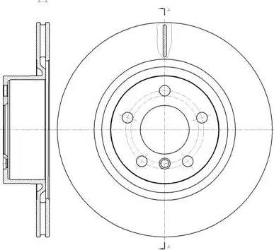 FREMAX BD-2216 - Bremžu diski interparts.lv