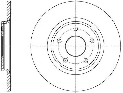 FREMAX BD-5163 - Bremžu diski interparts.lv