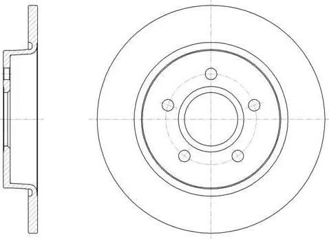 FREMAX BD-3957 - Bremžu diski interparts.lv
