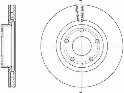 FREMAX BD-3565 - Bremžu diski interparts.lv