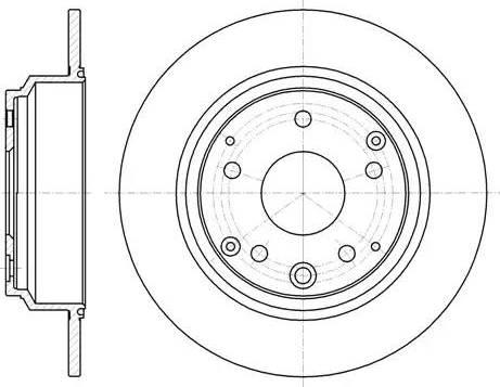 A.B.S. 17691 - Bremžu diski interparts.lv
