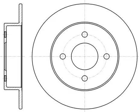 LYNXauto BN-1800 - Bremžu diski interparts.lv