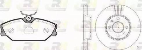 Roadhouse 8208.04 - Bremžu komplekts, Disku bremzes interparts.lv