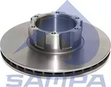 Sampa 100.485 - Bremžu diski interparts.lv