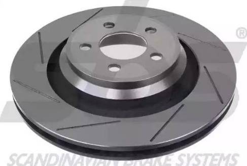 SBS 1815209321 - Bremžu diski interparts.lv