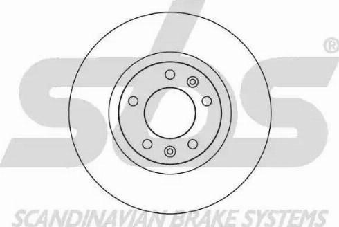 SBS 1815203723 - Bremžu diski interparts.lv