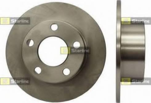 Starline PB 1067 - Bremžu diski interparts.lv
