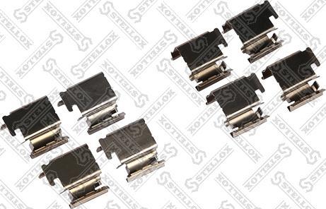 Stellox 00-01541-SX - Piederumu komplekts, Disku bremžu uzlikas interparts.lv