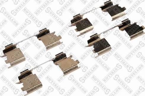 Stellox 00-01520-SX - Piederumu komplekts, Disku bremžu uzlikas interparts.lv