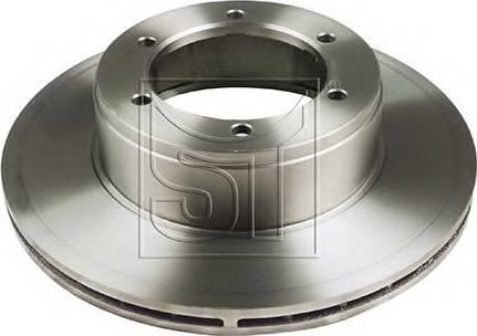 ST-Templin 03.110.2600.370 - Bremžu diski interparts.lv
