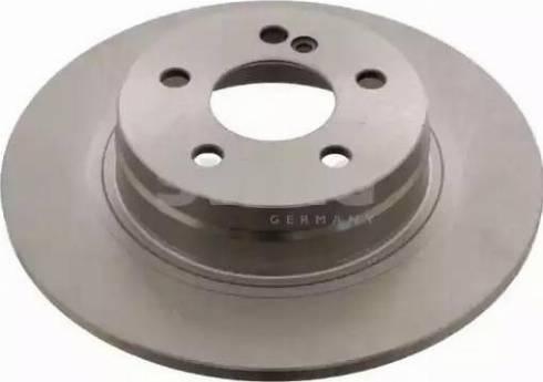 Swag 10 93 0555 - Bremžu diski interparts.lv