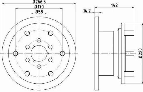 Textar 93019400 - Bremžu diski interparts.lv