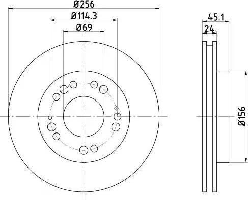 Textar 92094700 - Bremžu diski interparts.lv