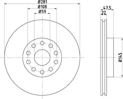Textar 92093800 - Bremžu diski interparts.lv