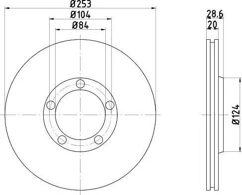 Textar 92093700 - Bremžu diski interparts.lv