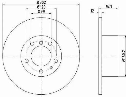 Textar 92042103 - Bremžu diski interparts.lv